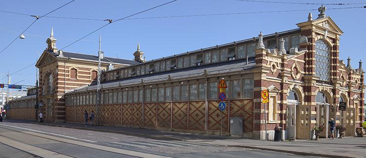 Старый крытый рынок