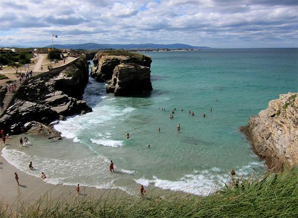 Пляж Святой воды (Praia de Augas Santas)
