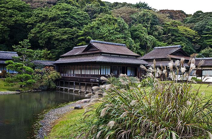 Сад Санкэй-эн в Йокогаме