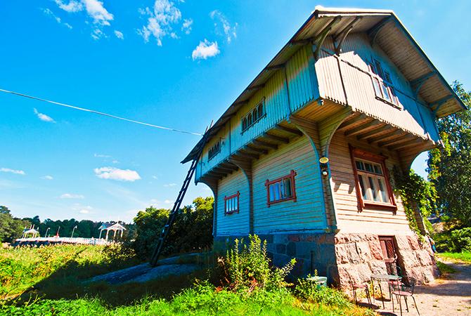 Сеурасаари – музей под открытым небом