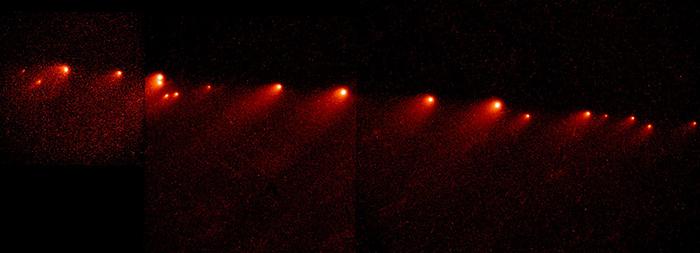 Комета Шумейкеров-Леви