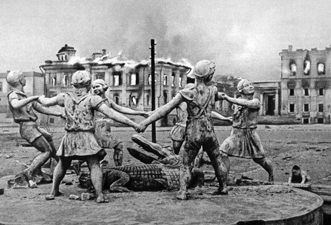 Сталинград во время битвы
