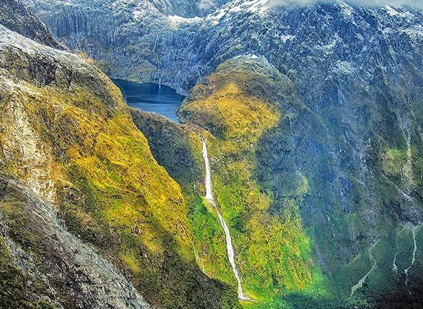 Водопад Сазерленд