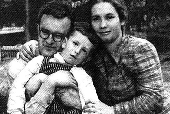 Свиридов с женой