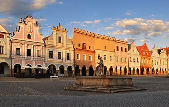 Город-музей Тельч