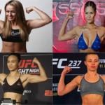 Самые красивые девушки, выступающие в UFC