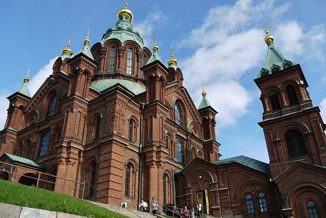 Успенский собор, г. Хельсинки