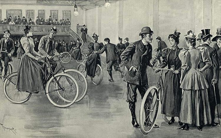 Велосипеды в старые времена