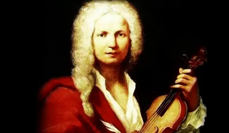 Антонио Вивальди со скрипкой