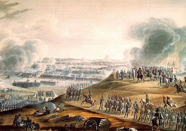 Во время сражения