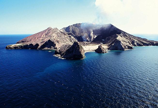 Остров-вулкан Уайт-Айленд