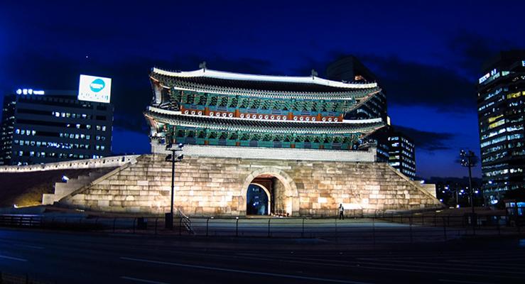 Намдэмунские ворота (Namdaemun Gate)