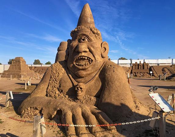 Музей песчаных скульптур