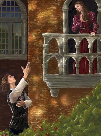 Сцена на балконе