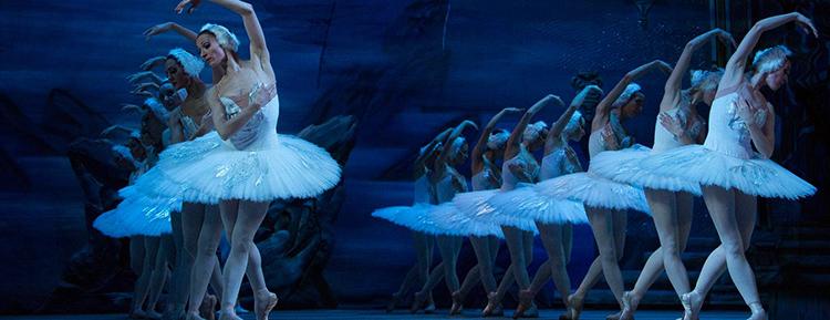 Балерины на сцене
