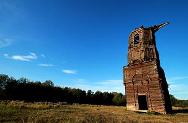 Рязанская «Пизанская башня»