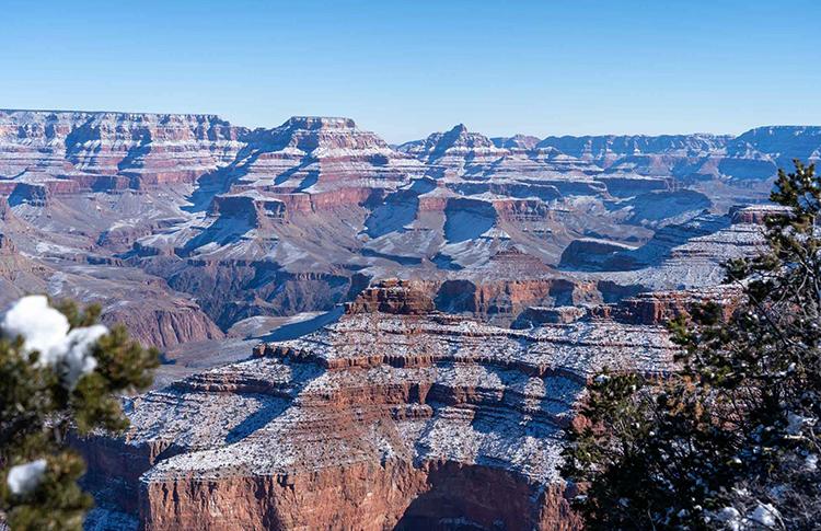 Большой каньон зимой