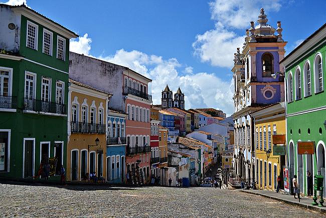 Исторический центр города Сальвадор-де-Баия
