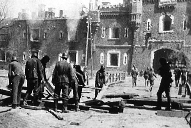 Брестская крепость в 1941