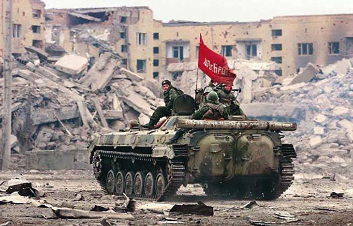 Во время чеченской войны