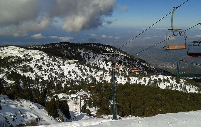 Лыжный курорт на Кипре