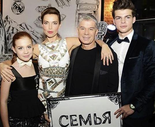Газманов с семьей