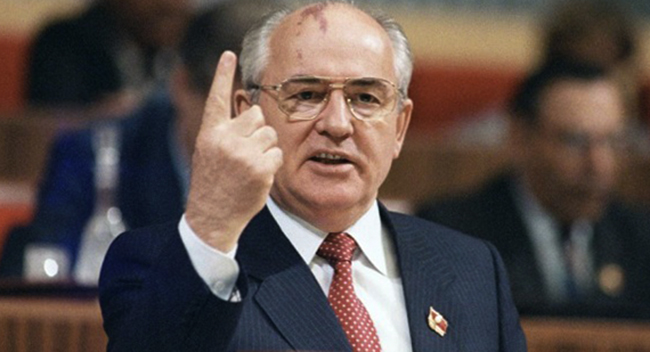 Горбачев в годы власти