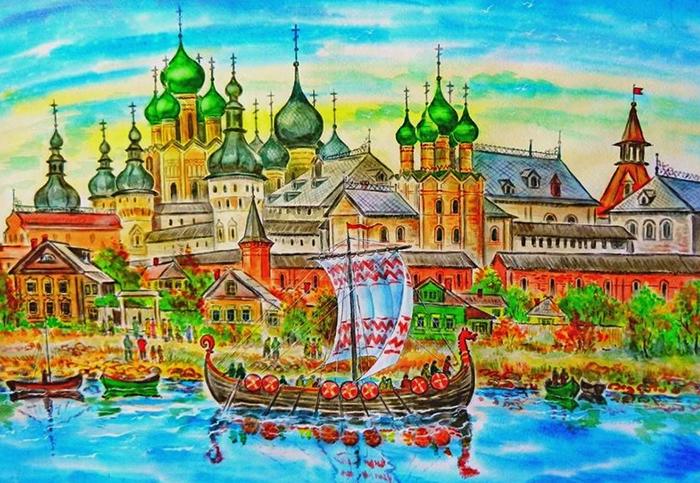 Город в древности