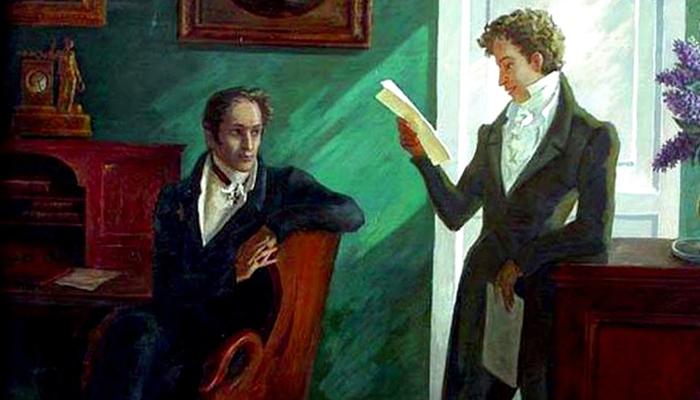 Карамзин и Пушкин