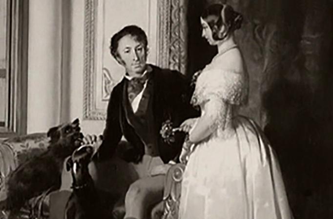 Карамзин с женой