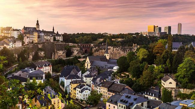 Красивый Люксембург