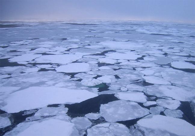 Лед на море Лаптевых