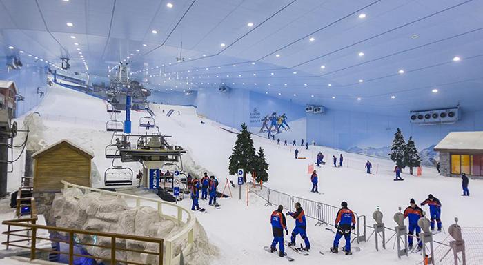 Лыжи в Дубае