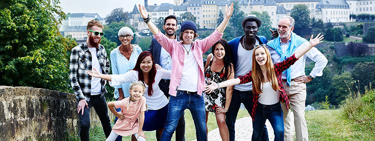 Люди в Люксембурге