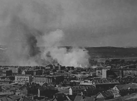 Мурманск в годы ВОВ