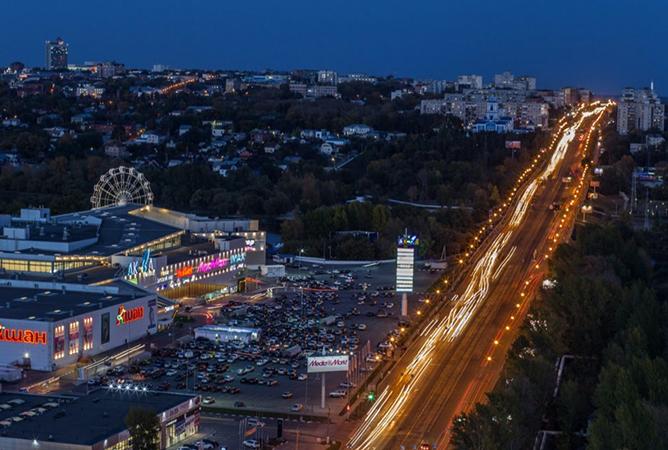 Ночной Ульяновск