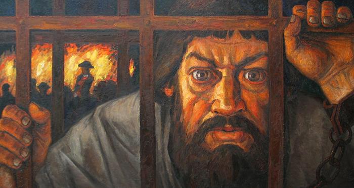 Пугачев в заточении