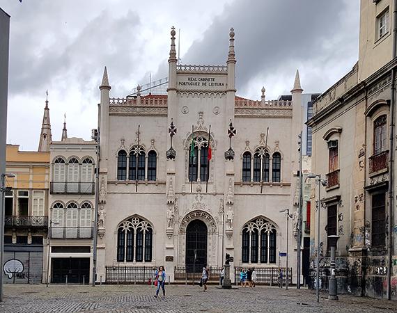 Португальская королевская библиотека, Рио-де-Жанейро