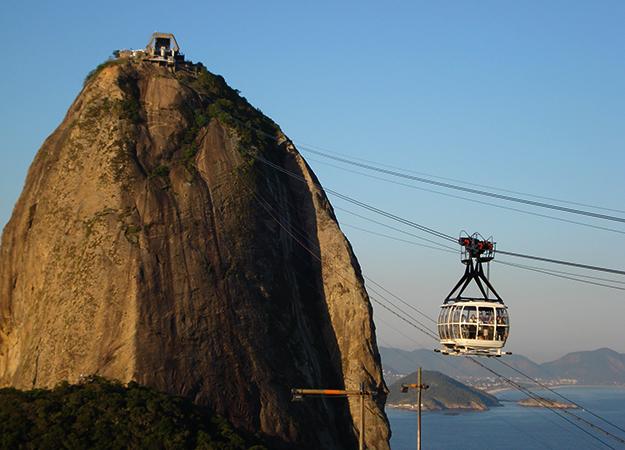 """Гора """"Сахарная голова"""" в Рио-де-Жанейро"""