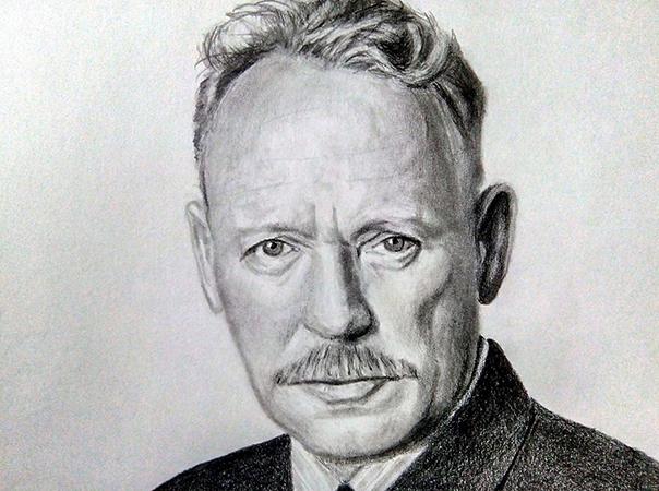 Портрет Шолохова