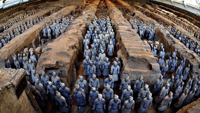 Солдаты терракотовой армии