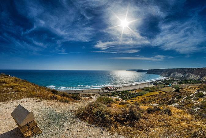 Солнце на Кипре