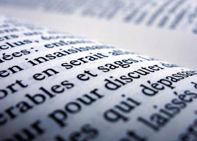 Текст на французском