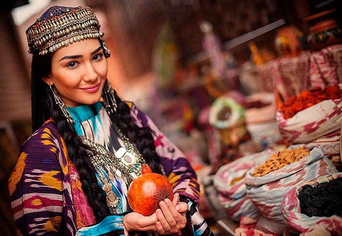 Узбекская девушка