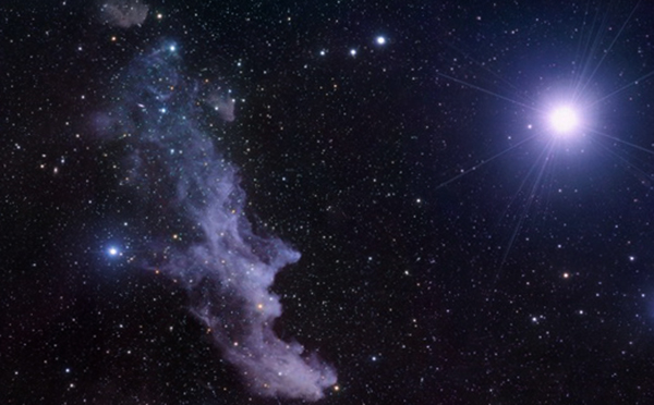 Яркая полярная звезда