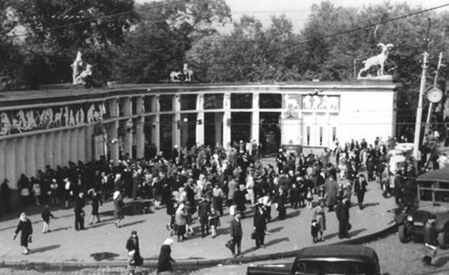 Зоопарк в годы войны