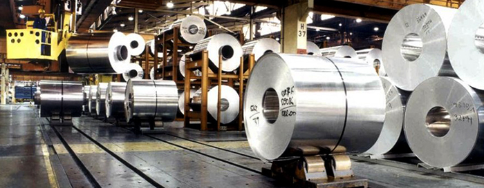 Алюминий на заводе