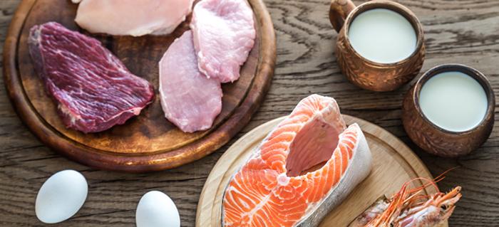 Еда с аминокислотами