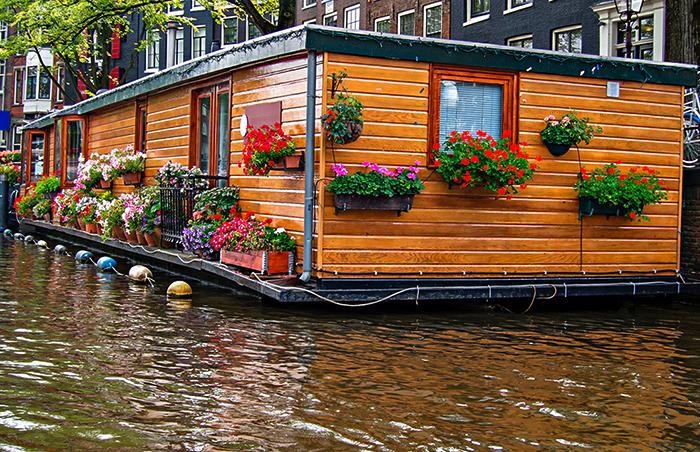 Плавучие дома