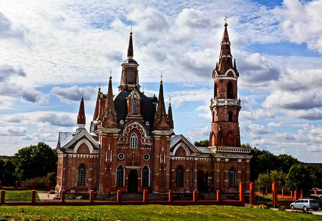 Церковь Знамения в селе Вешаловка
